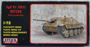 Attack 1/72 72830 Jgd Pz 38(t) Hetzer Early Production